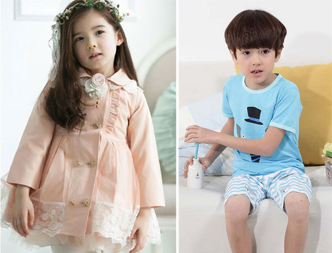 pakaian anak import korea
