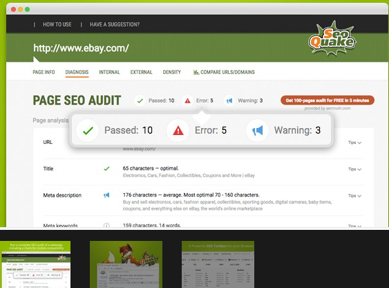 SeoQuake Extension for Opera add-ons Free Download