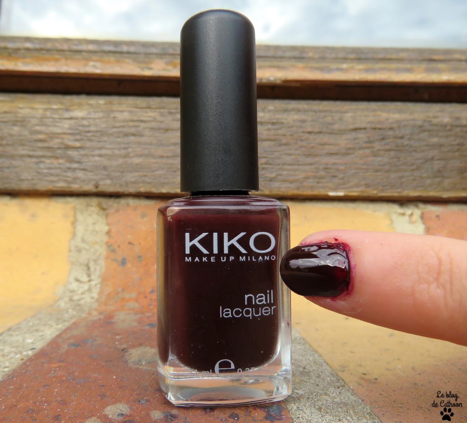 swatch vernis Kiko 226