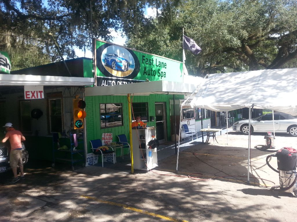 Eats, Drinks, and Scraps: Fast Lane Auto Spa - Zephyrhills, FL
