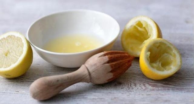 Gunakan Lemon Untuk Menyamarkan Flek Hitam
