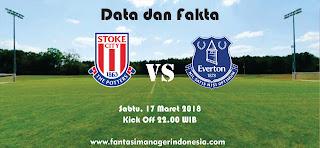 Data dan Fakta Fantasy Premier League GW 31 Stoke vs Everton Fantasi manager Indonesia