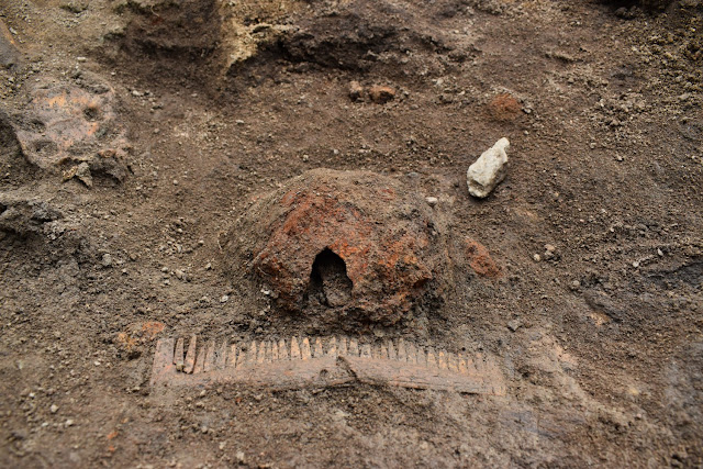 Unique boat graves discovered Sweden