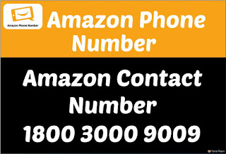 Amazon Contact Number 1800 3000 9009