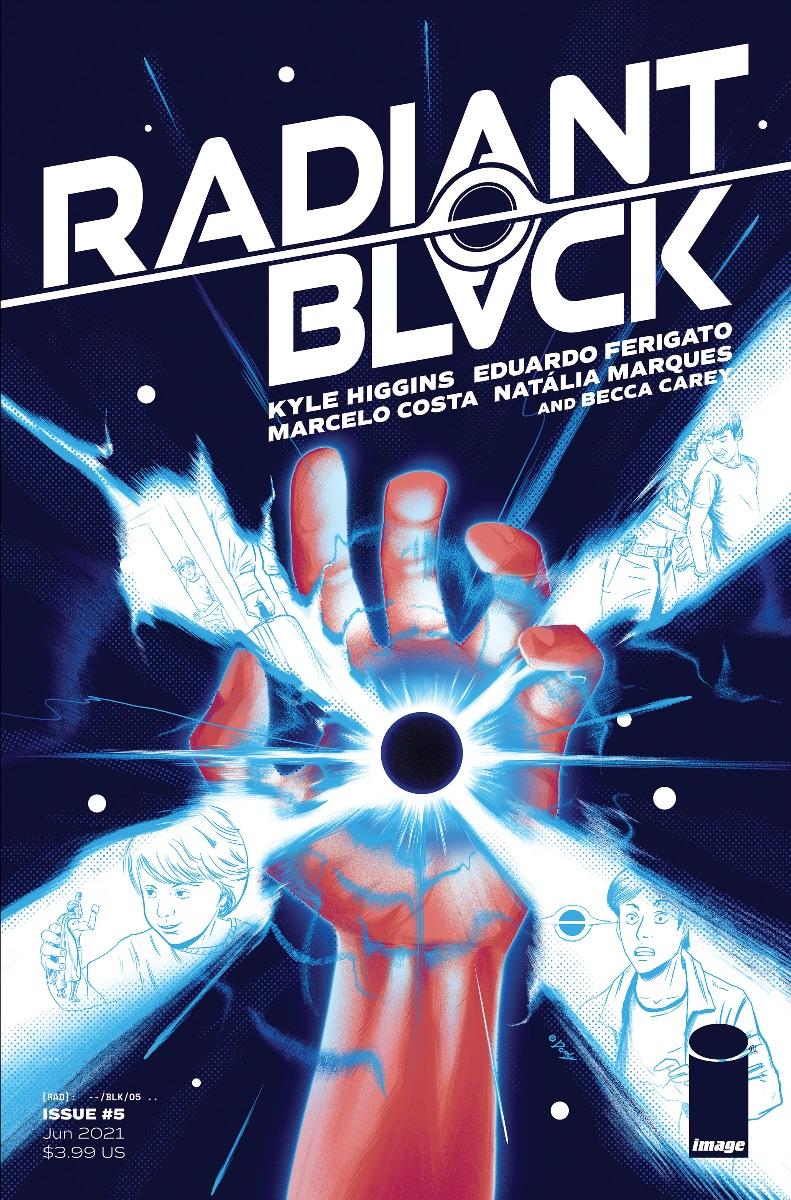 Eduardo Ferifato and Natália Marques Join Radiant Black Creative Team & Sneak Peak of Radiant Black #5