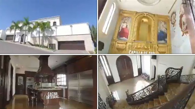 """VIDEO:  Filtrada; Así es la Mansión del """"Chino Ántrax"""" quien fuera ejecutado por los Chapitos, esta valuada en 51 Millones de Pesos"""