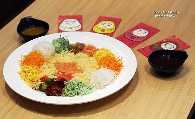 Sushi King Prosperity Yee Sang