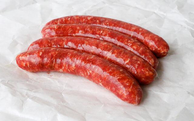 Beef Chipolata Sausages