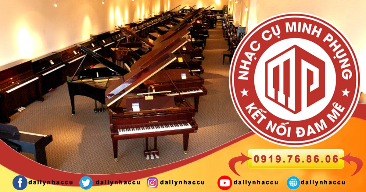 Chọn đàn piano thương hiệu uy tín