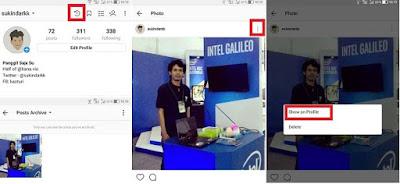 Cara Sembunyikan Postingan di Instagram