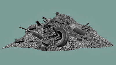 Rubble 1 - Final Renders