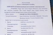 Pemkab Minsel Kembalikan Jabatan Sekdes dan Pala Desa Kinamang