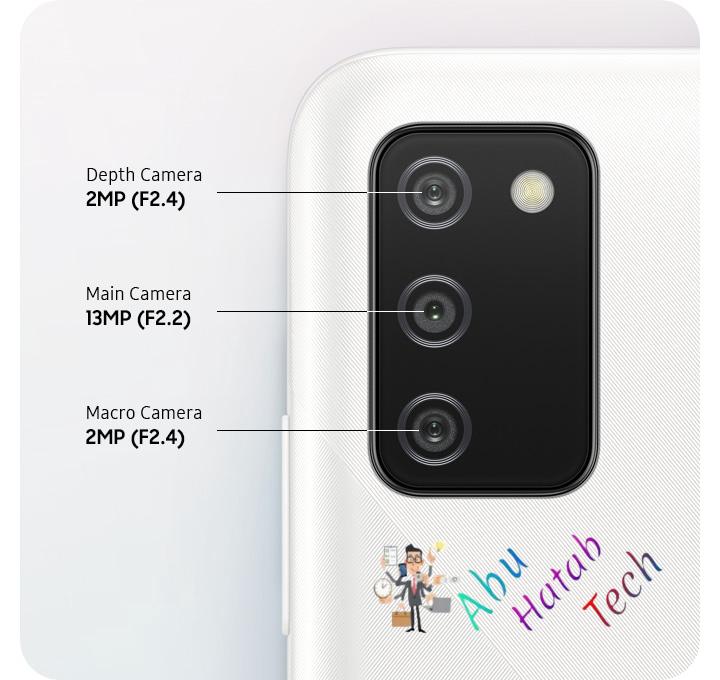 مميزات الكاميرا Samsung Galaxy A02s