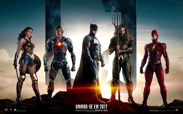 Confira o novo trailer legendado e pôster de Liga da Justiça