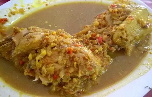 Resep Ayam Betutu Kuah khas Gilimanuk Bali
