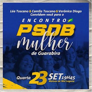 Guarabira: PSDB Mulher realiza encontro nesta quarta e convida elas
