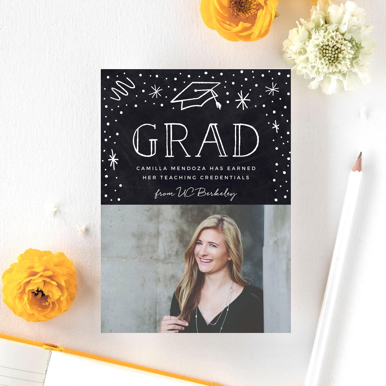 senior graduation cards and invitations from basic invite