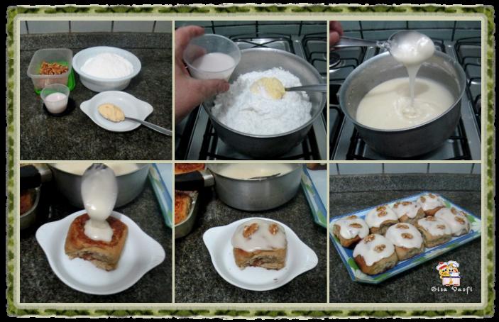 Pão doce de nozes 8