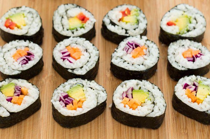 Sushi vegetal