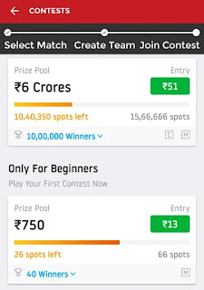 Fantasy cricket dream11