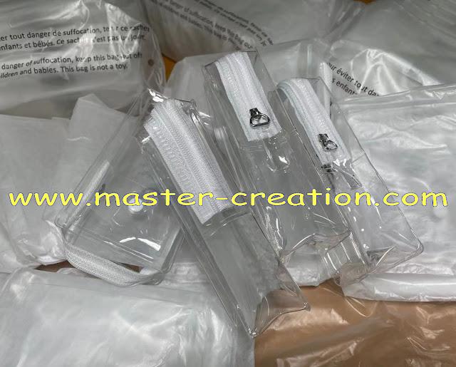 transparent TPU bag