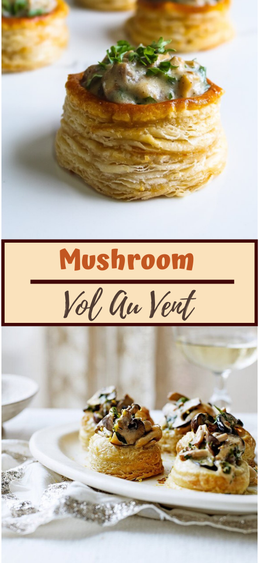 Mushroom Vol Au Vent #healthyrecipe #dinnerhealthy #ketorecipe #diet #salad