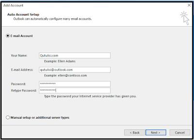 Cara Masuk (log in) pada Microsoft Outlook