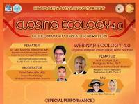 Webinar Nasional Ecology 2021 di UIN Syarif Hidayatullah Jakarta