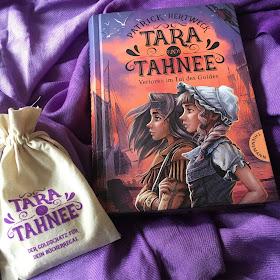 """""""Tara und Tahnee - Verloren im Tal des Goldes"""" von Patrick Hertweck, Thienemann Verlag, Kinderbuch ab 10 Jahren, Rezension auf Kinderbuchblog Familienbuecherei"""