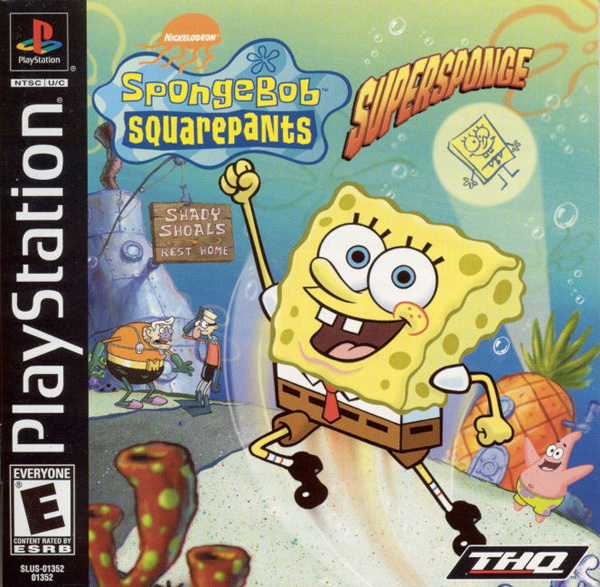 SpongeBob SquarePants - SuperSponge - PS1 - ISOs Download