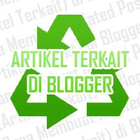 Buat Artikel Terkait Blogger
