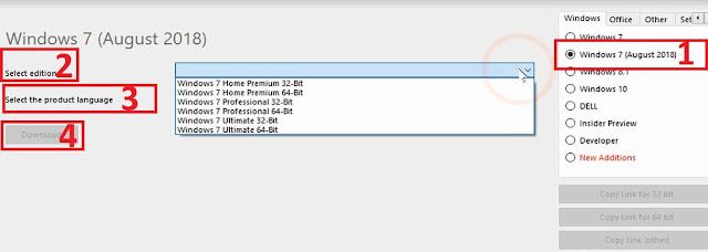 تحميل ويندوز 7 نسخ أصلية قانونية مباشرة من موقع مايكروسوفت مجانا