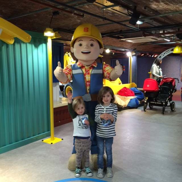 Meeting bob the builder,  Mattel play