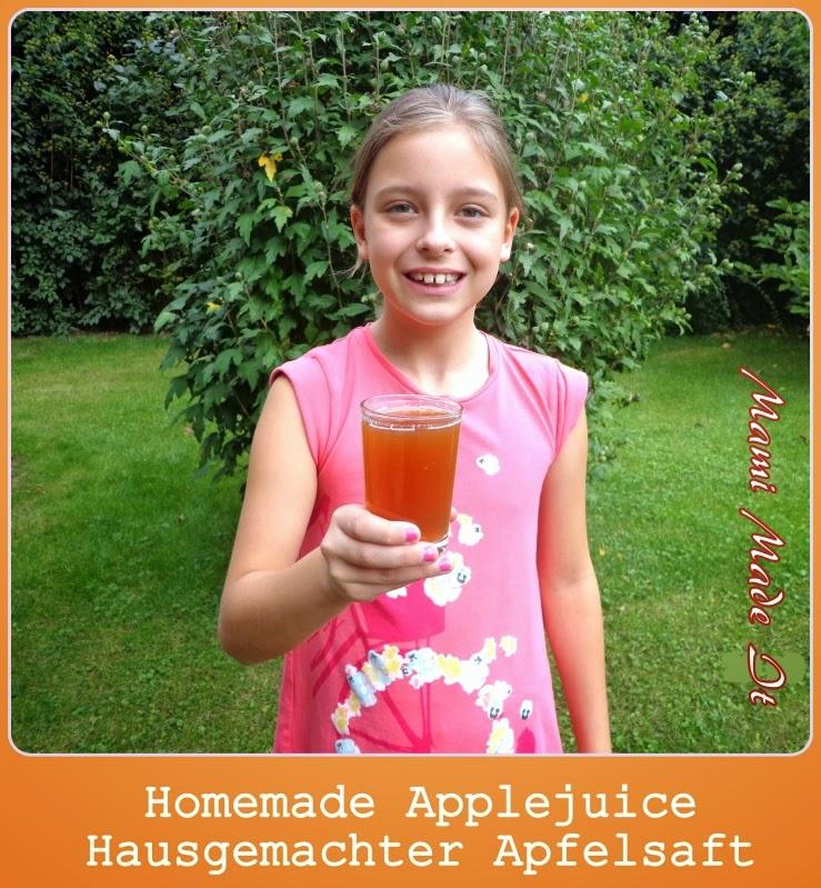 Homemade Apple Juice - Hausgemachter Apfelsaft