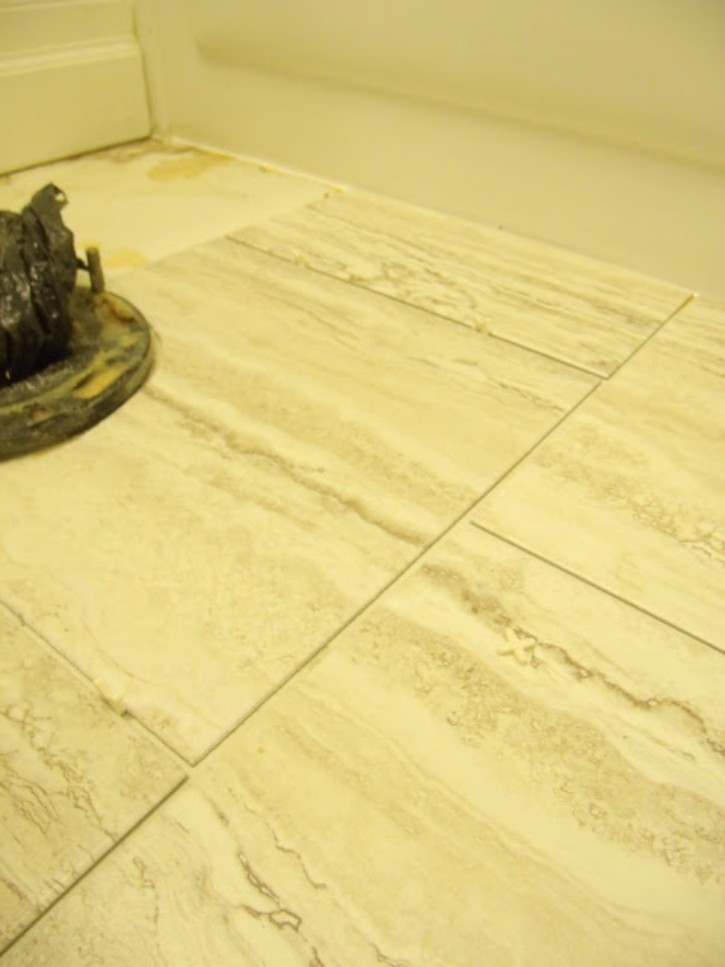 How to install peel and stick vinyl tile that you can for Can you seal vinyl flooring