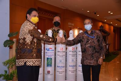 Indonesia Kembali Kirimkan 2.000 Tabung Gas Oksigen ke India