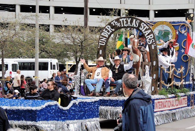 International Committee Rodeo Parade Float at 2017 Parade