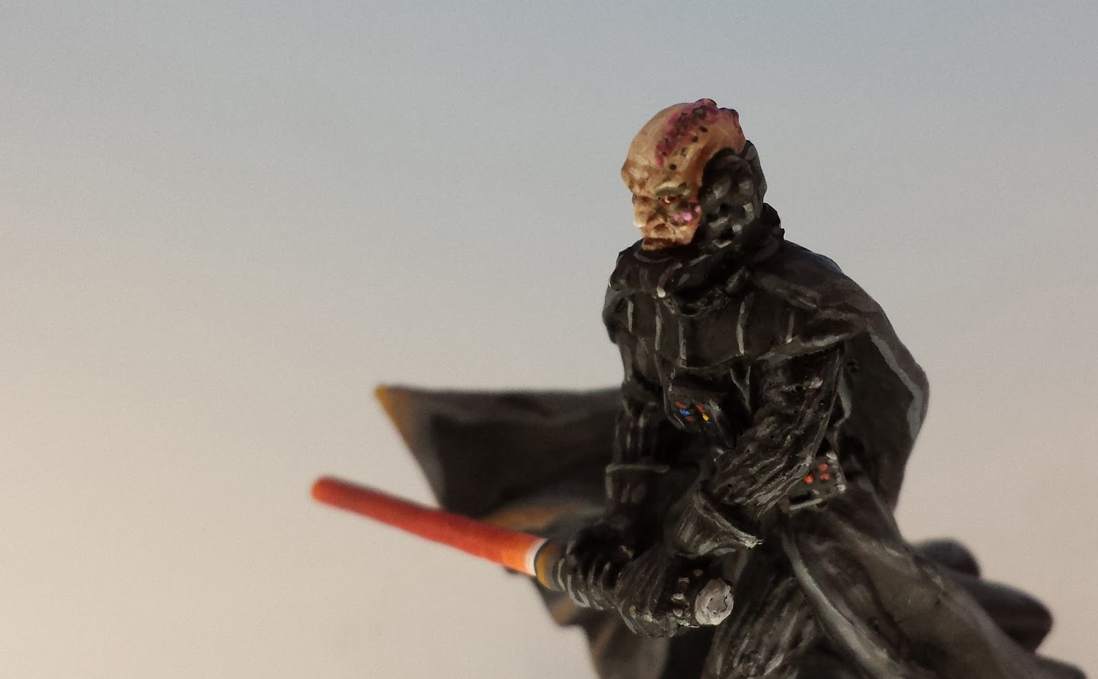 Oldenhammer in Toronto: Painting Pain: Darth Vader without ...