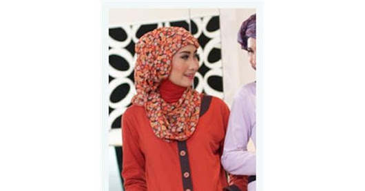 CLEARANCE SALE : T-shirt Muslimah U136 Orange