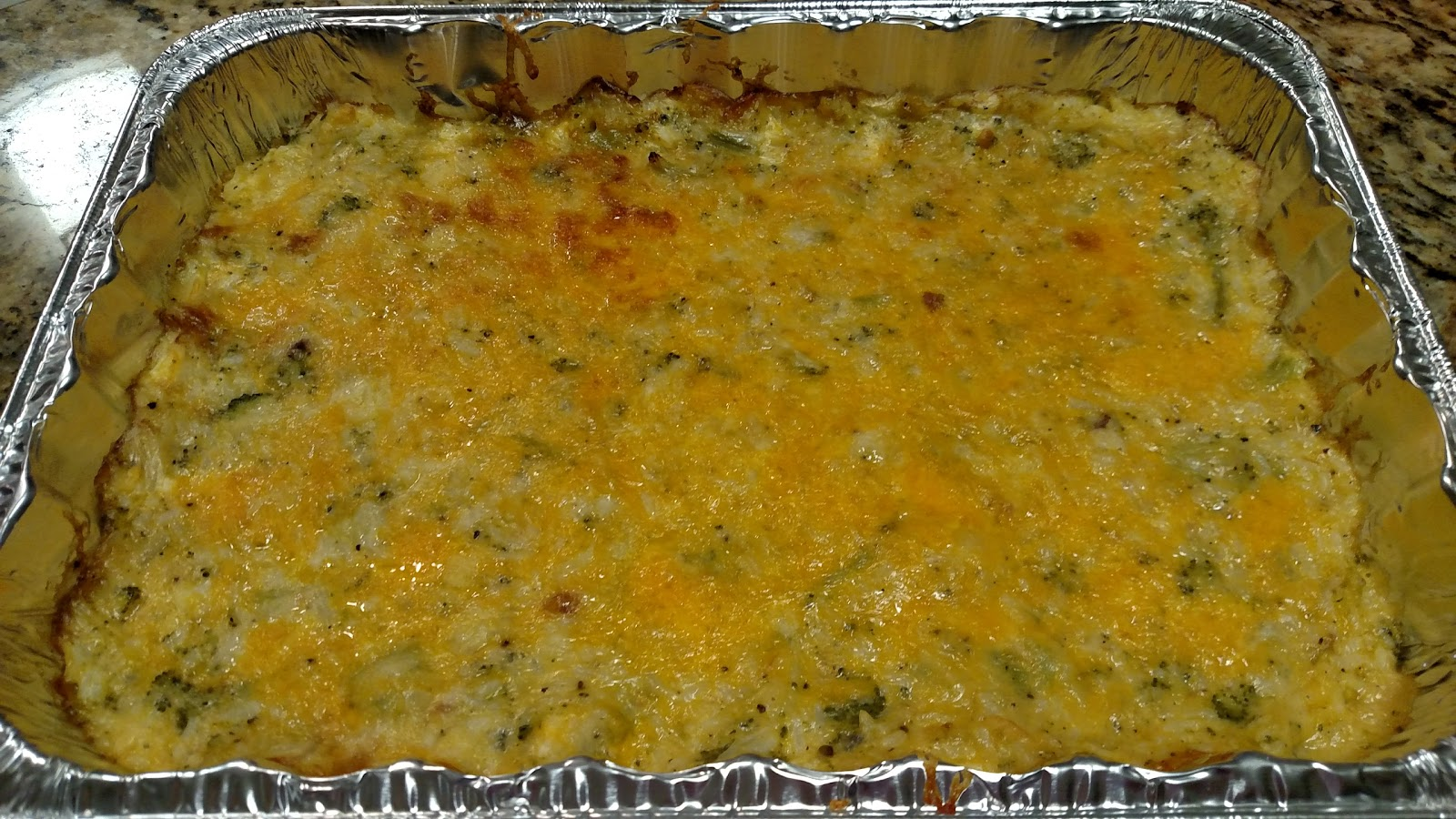 Broccoli Rice Cheese And Chicken Casserole