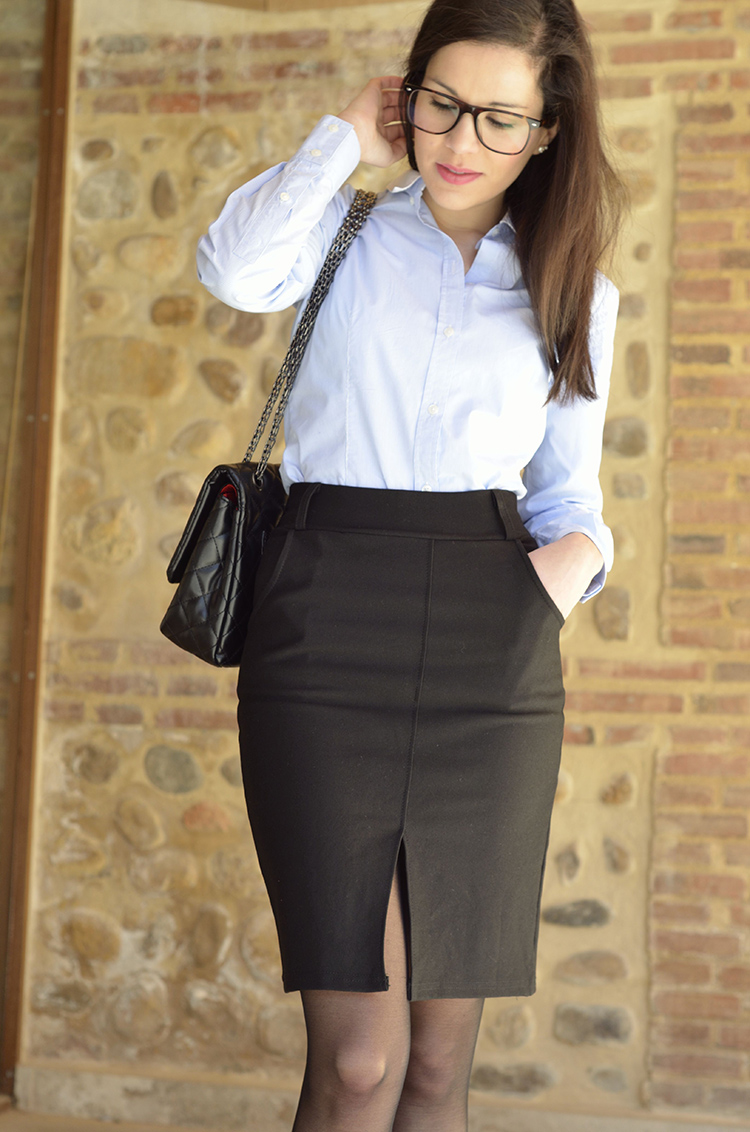 combinar-falda-lapiz-negra-blogger-working-girl-trends-gallery