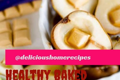 Healthy Baked Pears