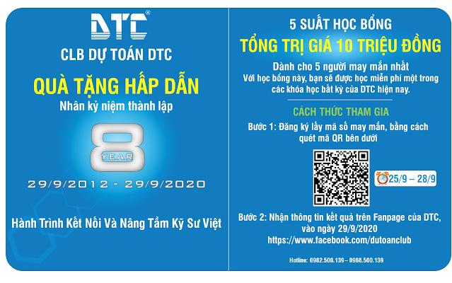 Kỷ niệm 8 năm thành lập DTC