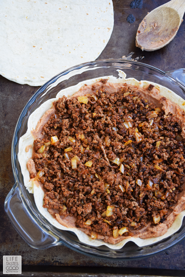 Easy Taco Pie Recipe | by Life Tastes Good