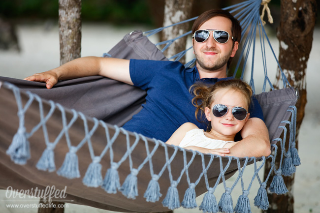 Dad will love spending time alone or with his kids in a new hammock. Great Father's Day gift idea!