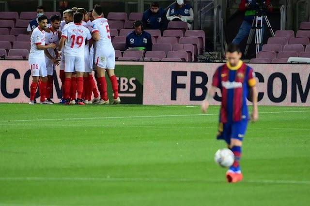Crónica FC Barcelona 1 - Sevilla FC 1