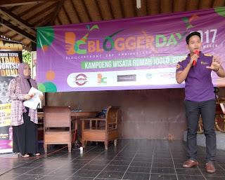 Keseruan Acara BloggerDay 2017