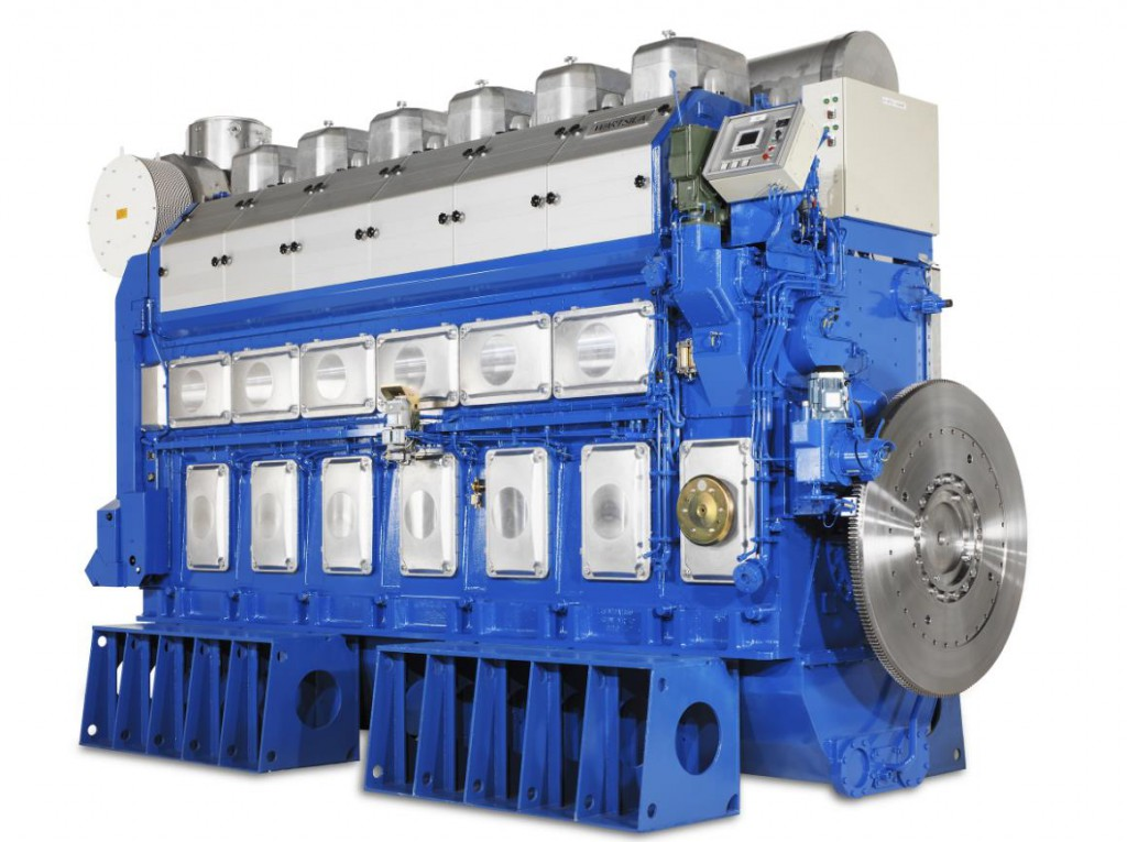 8 New Chinese Container Ships to be Powered by 32 Wärtsilä Generating Sets