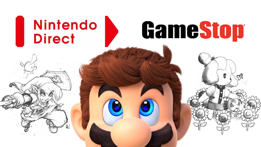 gameStop leaked product listing nintendo direct 2020 video super mario animal crossing new horizon breath of the wild sequel
