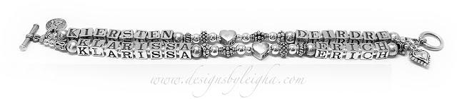 Kiersten Deidre Klarissa and Erich Mother bracelet - New Design!